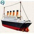 Titánica de la Nave Modelo de Construcción Bloques Compatibles con Legoelieds Figura B0577 Playmobil Juguetes Educativos para Niños con Caja