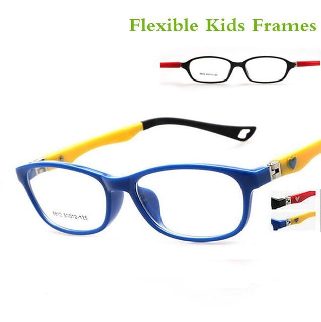 340c9b49d441b Crianças Da Menina da Criança PRIMAVERA Menino De Óculos óptica Quadro Oval Flexível  Óculos Rx Armações