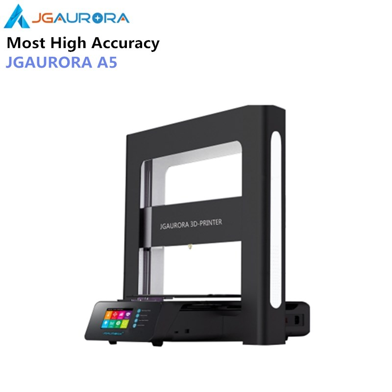 JGAURORA A5 Updated 3D Printer 305*305*320mm DIY with Big Large Printing Area Large Size Mini Printing Machine ABS PLA As Gift
