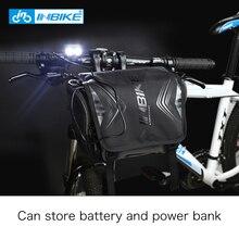 INBIKE Waterproof Bike Bag Large Capacity Handlebar Front Tube Bag Bicycle Pocket Shoulder Backpack Travel Cycling sport bag