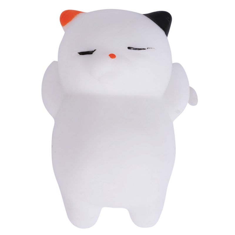 1 Pcs Kawaii Squishy Cat Mochi Anti Stress Squishy Slow Rising Squishy Stress Relief Toys