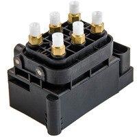 Клапан пневматической подвески блок для Audi A6C6 A8D3 OEM 4F0616013 4E0616007E
