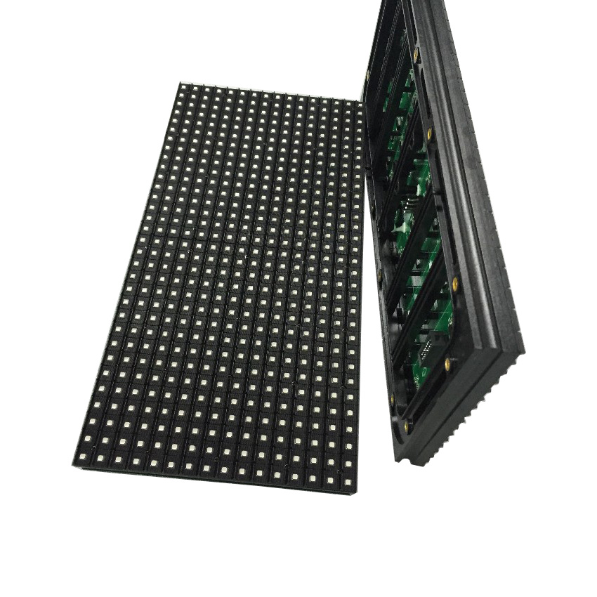 P10 SMD 3 In 1 RGB Outdoor Full Color 1/2 Scan LED Module Display P2.5 P3 P4 P5 P6 P8 Waterproof Led Screen Panel