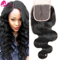 7a Brazilian Body Wave Closure 3 Part Middle Part Free Part Brazillian Hair Closure Body Wave Brazilian Virgin Hair Closure