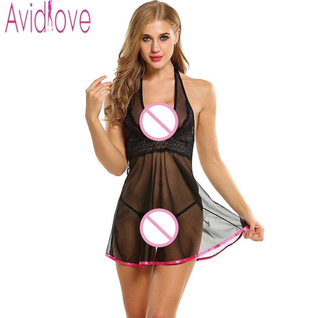 Avidlove Women y Lingerie Dress Babydoll Dress For Women Plus