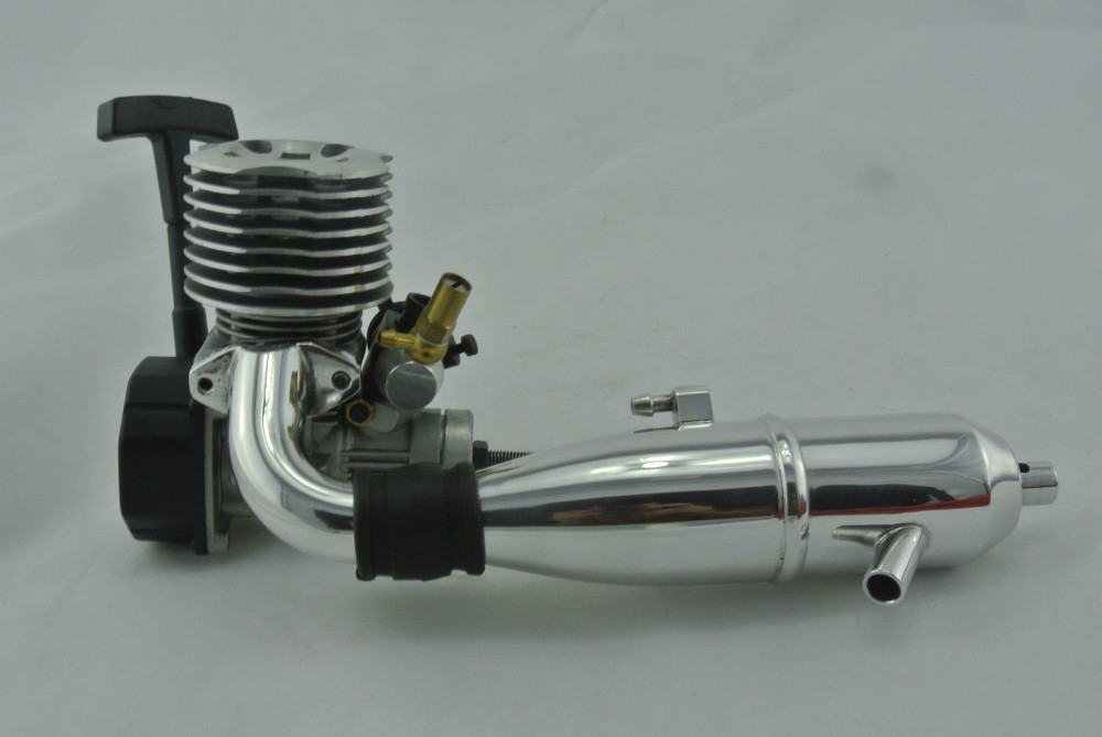 Scale Rc Nitro Buggy Truck Chungyang Engine Motor Nitro W Side Muffler Pipe