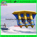 kayak new design fashion banana boat fly fish,6 persons Inflatable Flying Fishing Float for sale