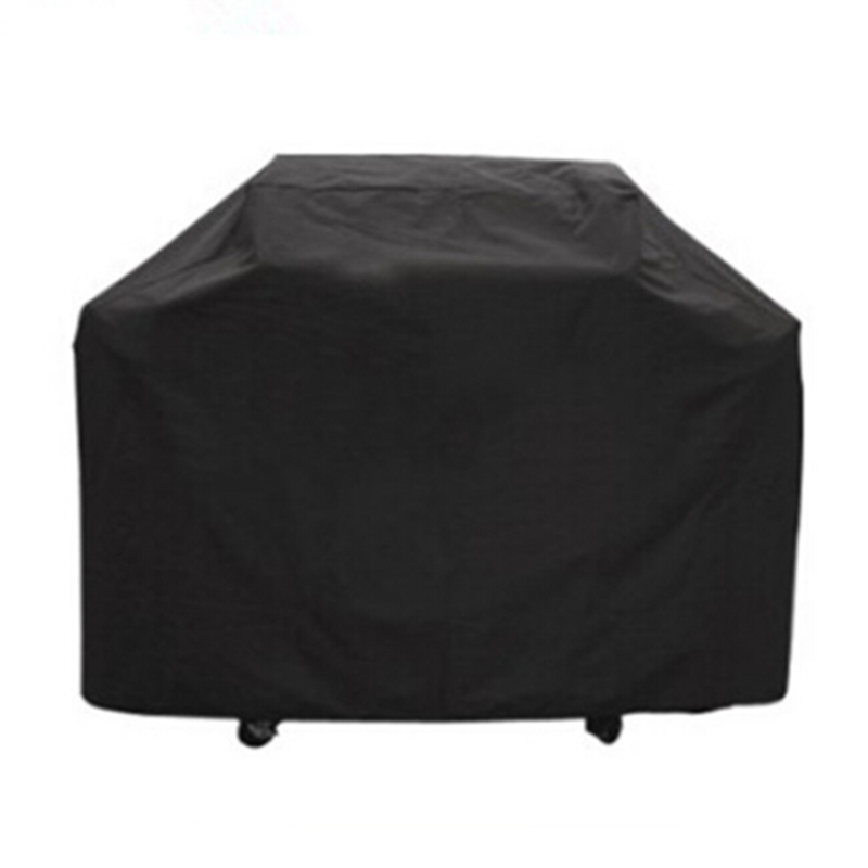 170 * 61 * 117M Sort Vandtæt Bbq Cover Udendørs Regn Grill Grill Protector For Gas Charcoal Electric Grill Grill