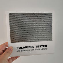 2 шт/лот Тестовая карта поляризационных линз для тестирования