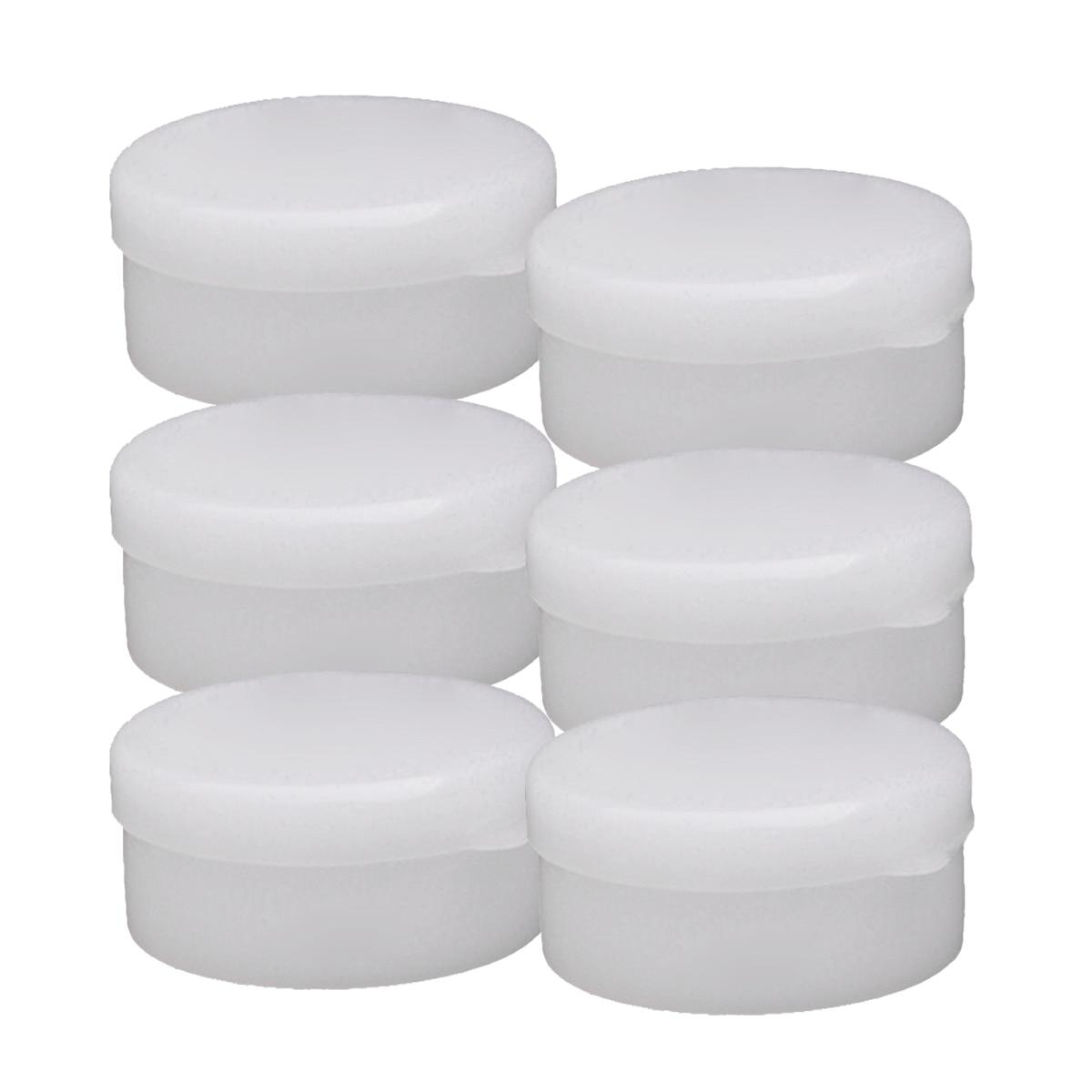 HHFF 100 stücke Gesicht Creme Box Kosmetik Unter abfüllung (30g (4,80*4,50*2,20 cm ))
