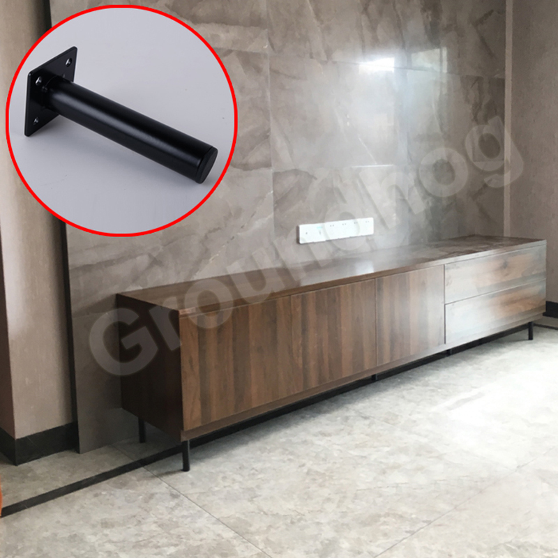 4pcs Furniture Feet 13cm Metal Table Sofa Cabinet Legs Cupboard Coffee Tea Bar Stool Chairs Feet With Mounting Screws