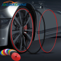 8M/ Roll Rimblades Car Vehicle Color Wheel Rims Protectors Decor Strip Tire Guard Line Rubber Moulding Trim