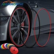 8M/rulo Rimblades otomobil araç renkli jant koruyucuları dekor şerit lastik Guard hattı kauçuk kalıp Trim