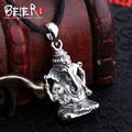 Beier new store 100% 925 thai silver sterling Ganesh pendant necklace fashion jewelry free give rope  A2150
