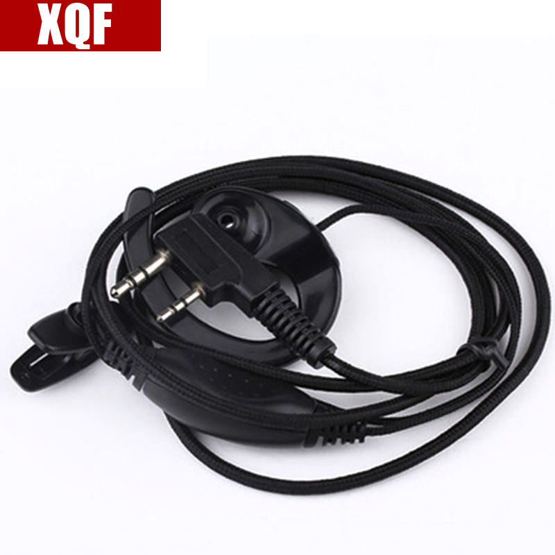 XQF New Coloured Thread Earpiece For BaoFeng UV-5R Walkie Talkie