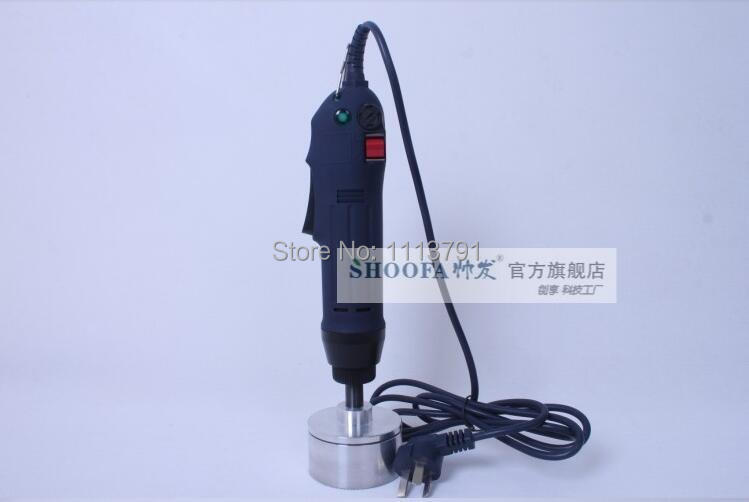 цена на SF-1500 Electric Hand held Screw Round Cap Capping Machine,Easy operation capper,bottle sealing machine