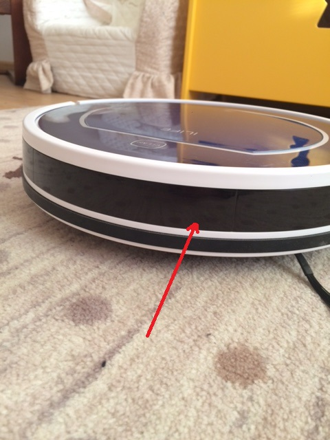 ФОТО Original ILIFE V7 Robot Vacuum Cleaner Front Bumper 1 pc