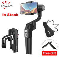 MOZA MINI S 3 Axis Foldable Pocket Sized Handheld Gimbal Stabilizer MINI S for iPhone XS X Smartphone GoPro VS MINI MI VIMBLE 2