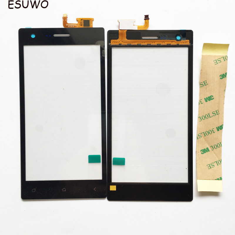 ESUWO Touch Panel Touchscreen For Micromax Q413 Touch Screen Digitizer Front Glass Digitizer Sensor Replacemet