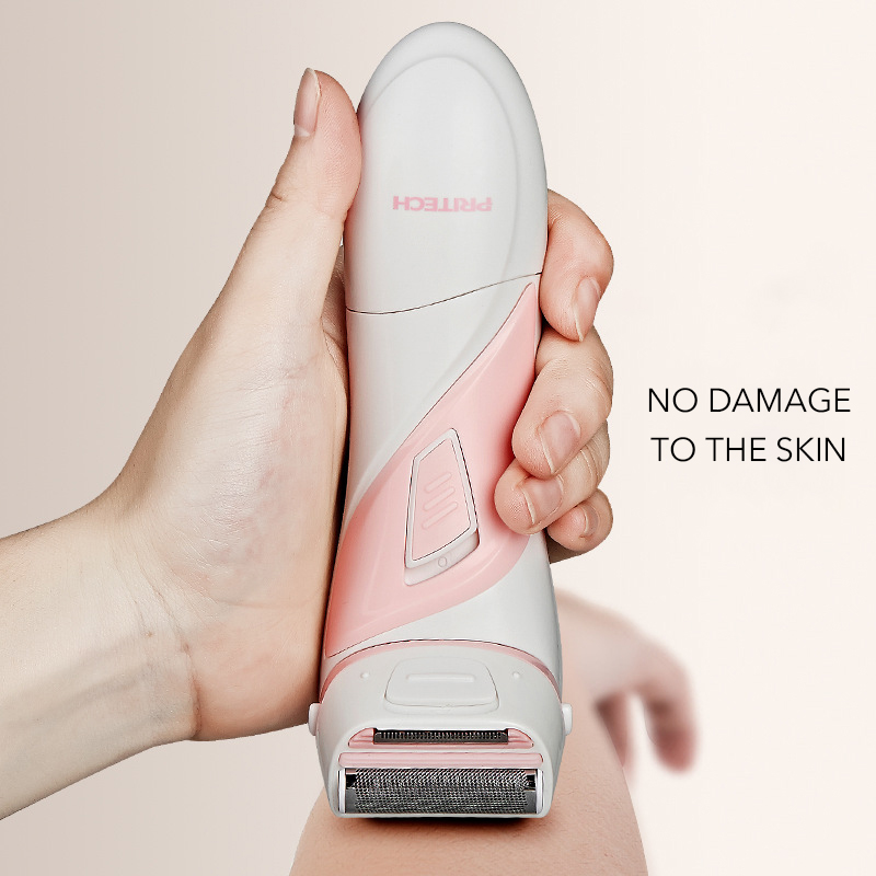 Women Hair Removal Machine Painless Epilator ABS Washing AA Battery Supply Women Trimmer For Body Pubic Hair Shaver in Epilators from Home Appliances