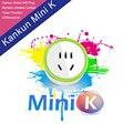 2016 nueva moda kankun inteligente wifi enchufe del zócalo de la ue k mini interruptor de control remoto inalámbrico mediante el uso de smartphone app