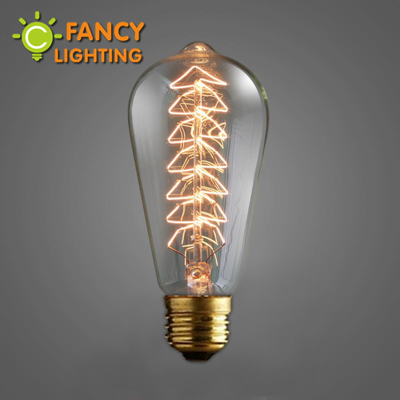 Lightinbox Vintage Edison incandescent light bulb Christmas Tree edison bulb 110V 220V Retro Edison Filament Light bulb