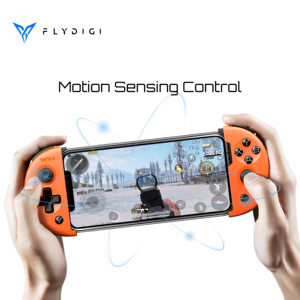 Image 2 - Flydigi pubg 대구 컨트롤러 모바일 게임 wee 2 모션 감지 게임 패드 안드로이드 텔레스코픽 블루투스 컨트롤러 геймпад