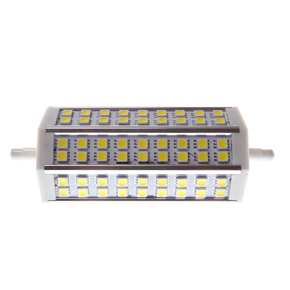 LED Light R7S Horizon Plug LED 5050 Light White (6000-6500K) Lighting Decoration 12W