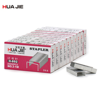 Metal Staples Book Staples Stitching Needle 24/6 Normal Staples 10 Small Boxes Student Gifts School Office Binding Supplies H892