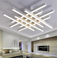Modern LED Ceiling Chandeliers Lights White Black Body Creative Ceiling Chandeliers Lamp For Bedroom Living Room
