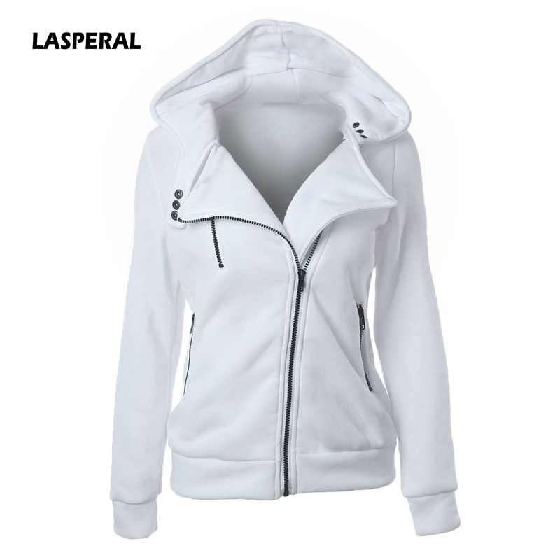 LASPERAL 2019 Autumn Winter   Jacket   Women Coat Casual Girls   Basic     Jacket   Zipper Cardigan Sleeveless   Jacket   Female Coats Plus Size