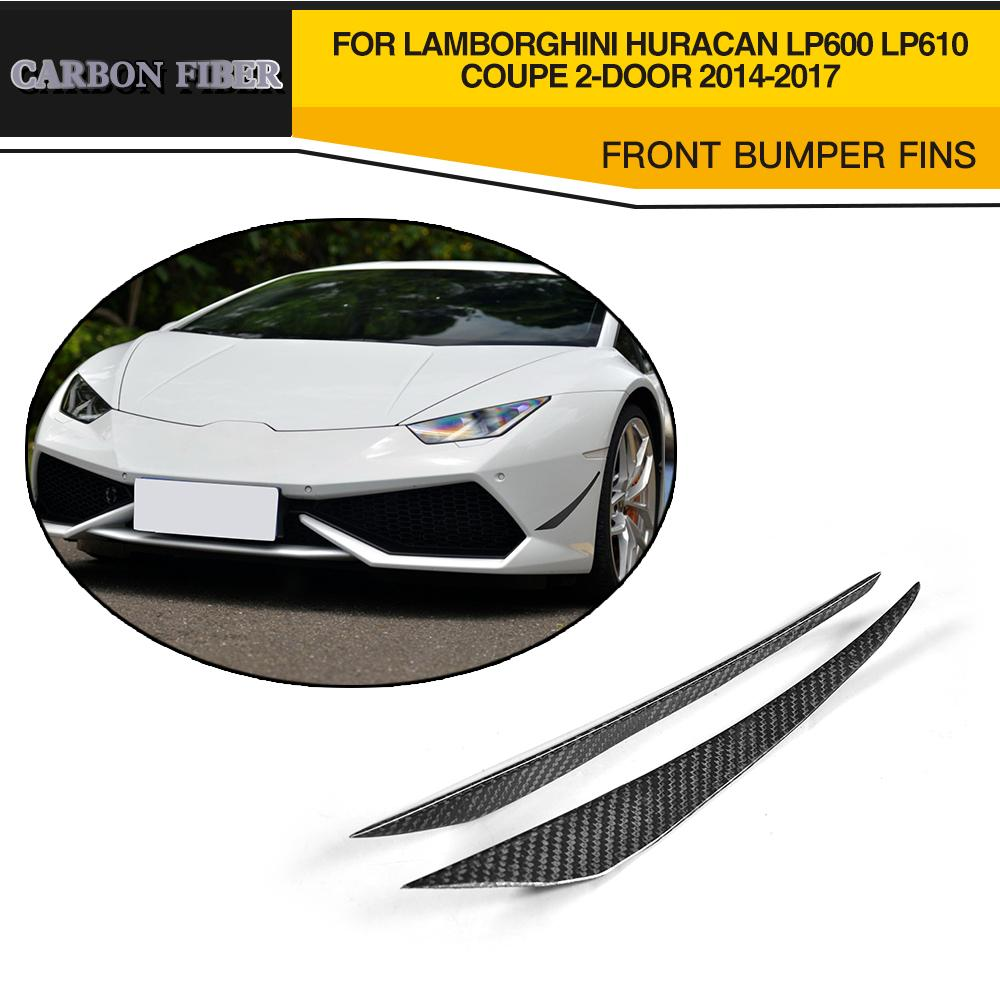Carbon Fiber Rearview Mirror Cap Covers Trim Case For Lamborghini Huracan Lp600 Lp610 Coupe 2 Door Add On Style Fast Color Mirror & Covers Automobiles & Motorcycles