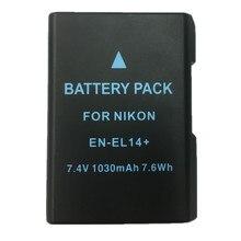 EN-EL14 lithium batteries pack ENEL14 Digital Camera Battery EN EL14 For Nikon D5200 D3100 D3200 D5100 P7000 P7100