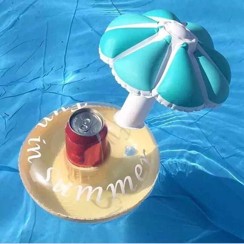 3pcsinflatable Umbrella Drink Cup Holder Inflatable