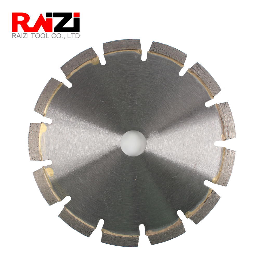 Raizi 7 Inch/180 mm Tuck Point Diamond Saw Blade for Asphalt, Stone and Granite