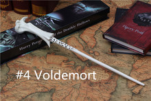 2016 New Top Quality Voldemort Magic Wand With Gift Box Cosplay Game Prop Collection Harry Potter Series Toy Stick #4(China (Mainland))