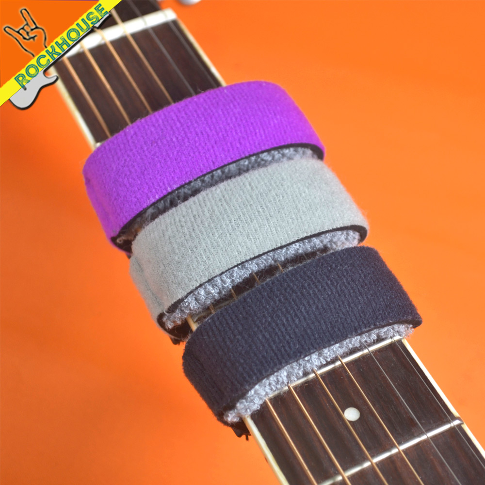 12pcs/lot Guitar FretWraps Strings mute hight quality strings dampener muting for Electric Guitar Acoustic Guitar and Bass