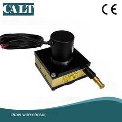 Os transdutores baratos da extensão do cabo da escala de seguimento de 3000mm desenham o codificador linear do sensor do deslocamento do fio