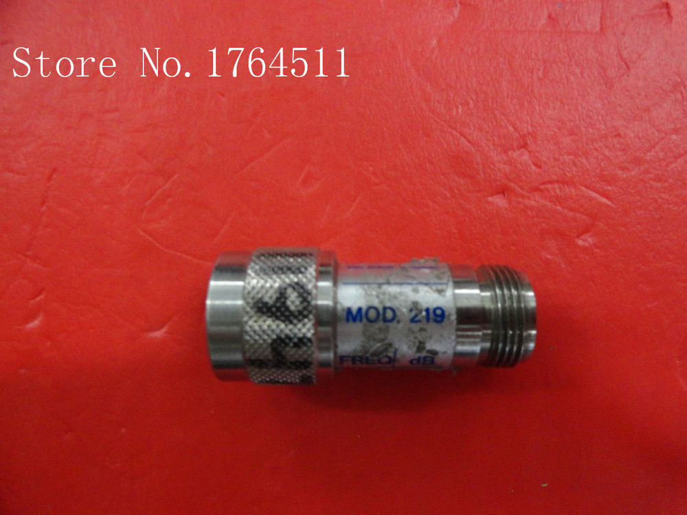 [BELLA] MIDWEST MOD.219 3dB 0-18GHz Fixed Attenuator (N M-F)