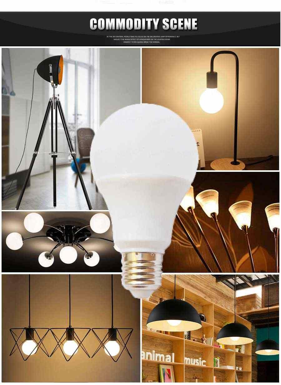 20W 7W 240V en B22 9W Lámparas hogarpara reflectores 12W para el Oferta 230V LED E27 5W usar 3W 15W 110V SMD5730 220V TPiOukXZ