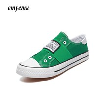 Unisex Men fashion Low Style Summer Canvas Shoes Hot-Selling Vulcanized Casual Shoes Slip-On all size 40-44