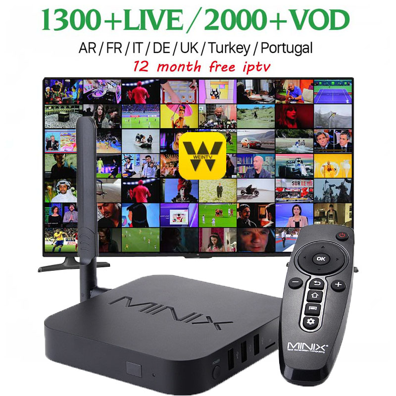 Wechip MINIX NEO U1 Android TV Box 7.1 Amlogic S905 Quad Core 2G/16G 802.1 2.4/5GHz dual WiFi H.265 HEVC 4K Ultra HD Set Top Box beelink mini mx ver 1 0 tv box android 5 1 2g 16g amlogic s905