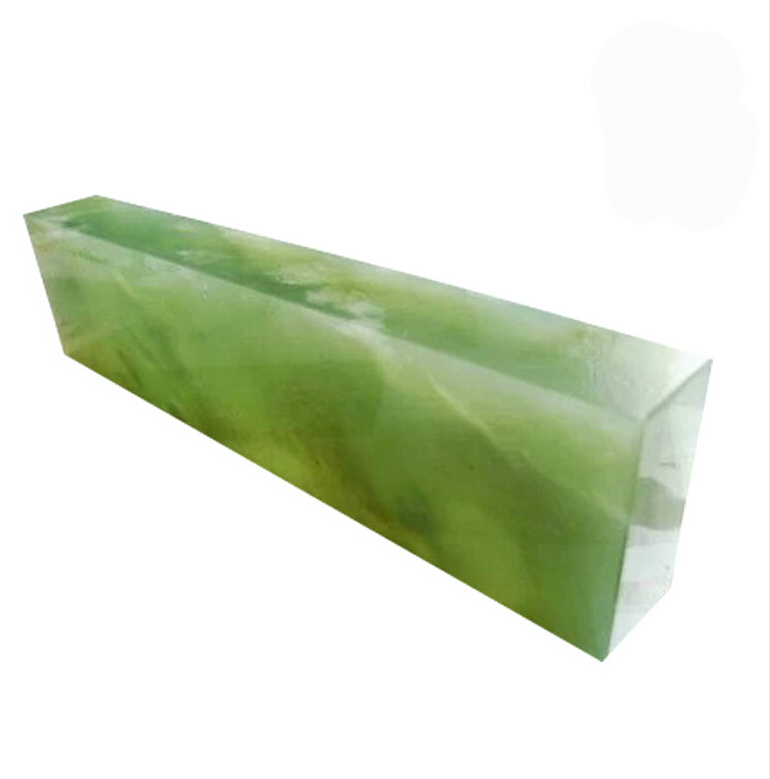 Kow Super Large Knife Sharpening Stone Natural Emerald Oilstone Polishing Stone10000 Grit Green Agate Ruby 200*50*25mm