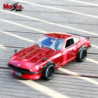1:18 Collectible Die Cast Car Models Toys for Chldren Static Alloy Auto Vehicle Mobile Sports Car mkd3 Nissan 1971 DATSUN 240Z