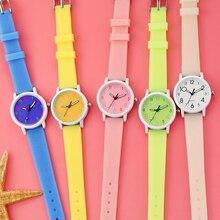 reloj montre Kids Wrist Watch Cartoon Candy Watches Rubber Quartz Clock Best Gift Watch Children Silicone Sports Watch for Girls цена
