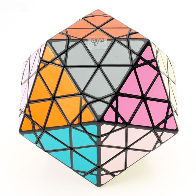 New MF8 Eitan's Star Icosaix Radiolarian Puzzle Magic Cube Black and Primary Limited Edition very challenging Welcome to buy
