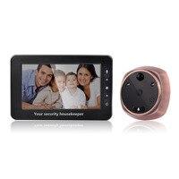 4 3 Inch 3MP Door Intercom Peephole Viewer Motion Detection Video Door Phone