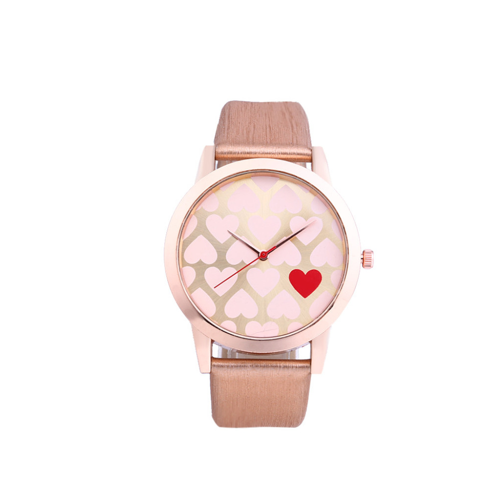 Vente Chaude Stylish Women Watch Luxurious Lovers Dial Leather Band Women Clock For Girl Unicorn Automatique Zegarek Damski *A