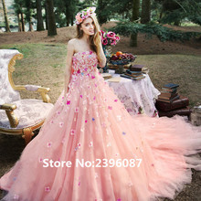Fnoexw Ball Gown Wedding dresses 2019 Train Bridal Gown