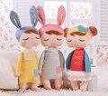 Envío gratis kawaii metoo conejo angela muñecas de dibujos animados diseño animal de peluche niños muñeca de la felpa para los niños regalo de cumpleaños/navidad